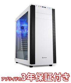 【最大100円OFFクーポン配布中】 (3年保証 BTOゲーミングデスクトップパソコン) BG-Ryzen52600-01(基本構成 CPU:Ryzen 5 2600 /メモリ:DDR4 8GB/SSD:240GB/HDD:−/電源:750W 80PLUS GOLD/グラボ:GeForce GTX 1050 Ti)(BG) デスクトップパソコン 新品