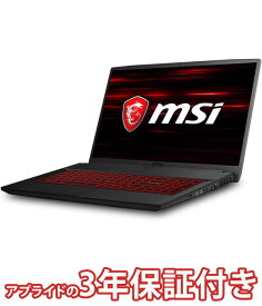 (ゲーミングノートパソコン)msi GF75-9SC-062JP(17.3インチ フルHD/Core i7-9750H/GeForce GTX 1650/メモリ 16GB/SSD 256GB/HDD 1TB)(4526541188800)