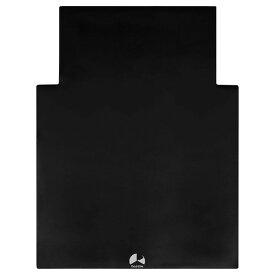 Bauhutte (バウヒュッテ) ゲーミングチェアマット ブラック 144×108cm 2mm厚 BCM-144N-BK お取り寄せ【代引き不可】