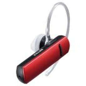 【ポイント最大36倍★4月15日限定★店内全品対象】Bluetooth4.0対応 片耳ヘッドセット レッド BSHSBE200RD BUFFALO バッファロー お取り寄せ