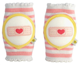 CRAWLINGS Kneepads pink band-aid baby supporter