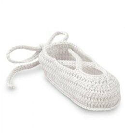Jefferies socks ジェフリーズソックス 新生児セレモニー バレエシューズ ハンドメイド クロシェ編み 女の子 ベビー フォーマル 靴 お祝い 記念撮影 セレモニーに