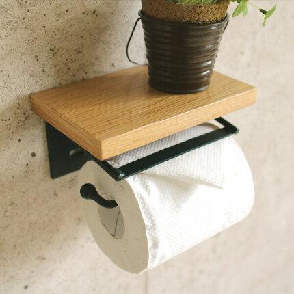 トイレットペーパーホルダー,トイレットペーパーホルダ,トイレ収納,トイレ雑貨おしゃれ,完成品,取付簡単,古材,DIY