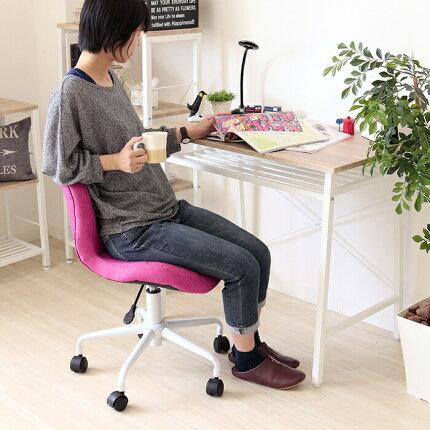 パソコンチェア疲れにくいデスクチェアおしゃれコンパクトオフィスチェアデスクチェア椅子オフィスチェアー昇降回転キャスター付事務椅子デスク用チェアイス腰痛学習椅子グリーンブラックピンクキャメルパンナカラフル