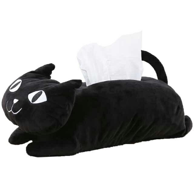 【10%オフクーポン配布中3/29 1:59まで】【メール便送料無料】イタズラネコティッシュボックスカバー ケース かわいい ぬいぐるみ ネコ 猫 ねこまんじゅう ネコマンジュウ インテリア ギフト プレゼント
