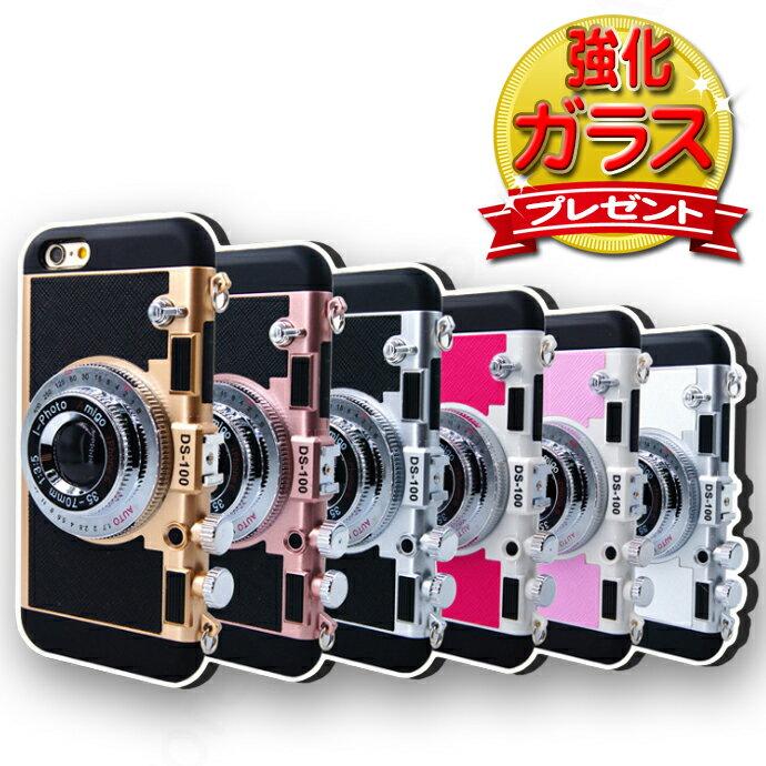 強化ガラス保護フィルム付き カメラ型 ケース iPhone X ケース iPhone Xs ケース iphone8 ケース iPhone8Plus ケース iPhone7ケース iPhoneXR iPhoneXs Max iPhone7 Plus iphone6s plus ケース アイフォンX プラス かわいい 韓国 海外 おしゃれ スマホケース 487