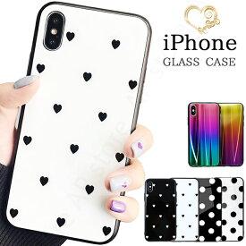 背面強化ガラス iPhone Xs ケース iPhone8 ケース iPhone Xs MAX iPhone Xr ケース iPhone X ケース iPhone7ケース iPhone8Plus iPhone7 iPhone6s plus ケース アイフォンXs ケース iPhoneケース ブランド おしゃれ 海外 かわいい ハート 502 716