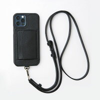 【iPhone12ProMax】DemiurvoデミウルーボレザースマートフォンケースPOCHEアイフォンケースアイフォーンケース携帯ケース手帳型ポケット付き首紐付きストラップ付きコインケース付き本革ICカード|定番ライフスタイル