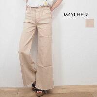 MOTHERマザー1975-802KKYTHEPATCHPOCKETROLLERFRAYハイライズワイドデニムパンツポケットジーンズカットオフ 20SSボトムス春夏