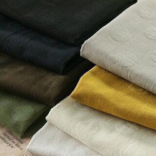 洗いをかけた高密度ドットジャガード■上質で趣のある素材