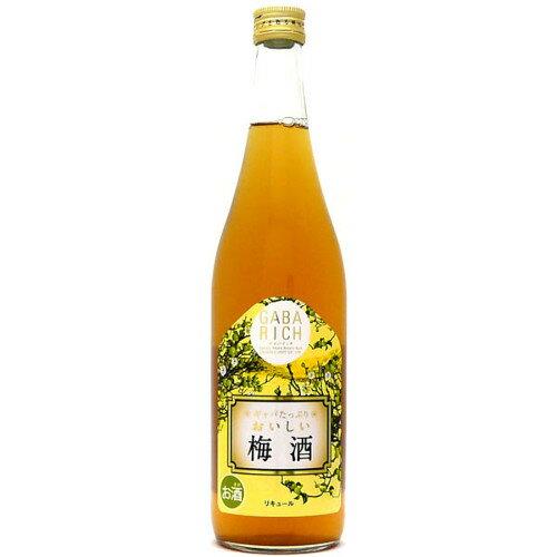 中国醸造 ギャバリッチ 梅酒 720ml