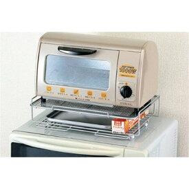 【パール金属】キッチンストレージ 2 レンジ上ラック 2段 H-7485【あす楽】【キッチン 台所 収納 電子レンジ トースター】