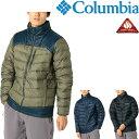 ダウンジャケット アウター メンズ アウトドアウェア コロンビア Columbia/防寒 男性 ...