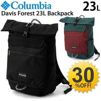 Colombia Columbia David forest 23L backpack / mens unisex outdoor bag backpack bag casual roll top /PU8962/05P03Sep16