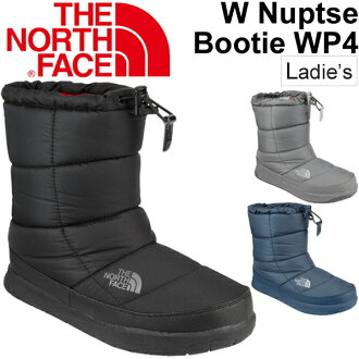 North face THE NORTH FACE women's boots nubs booties 4 women's winter shoes warm outdoor boots medium-length waterproof waterproof /NFW51685/05P03Sep16
