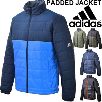 Adidas adidas mens cotton jacket men fill the outer cold wear casual wear basic commuter school sportswear jumper /BSH00