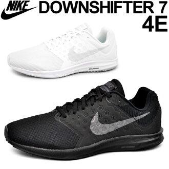 Nike men sneakers NIKE downshifter 7 4E DOWN SHIFTER running jogging walking gym training man light weight shoes 24.5-30.0cm casual shoes /852460