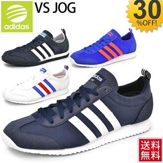 2fea9e60b5a6 Adidas men s sneakers VS jog adidas neo VS low-cut retro running JOG nylon  casual Adidas Neo Casual Shoes ...