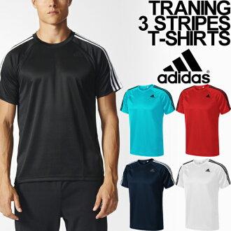 T-shirt Adidas men short sleeves shirt adidas D2M training 3 stripe running sports casual wear man tops /BUM28