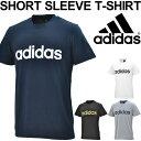 Tシャツ 半袖 メンズ アディダス adidas ESSENTIALS 半袖シャツ ロゴT トレーニング スポーツ カジュアル ウェア 丸首…