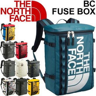 THE NORTH FACE 베이스 캠프 퓨즈 박스 노스 페이스 상자 형 백팩 아웃 도어 타운 캐주얼 가방 세로 가방 가방 맨 즈 레이디스 BC Fuse Box 30L 통근 ・ 통 학 가방/NM81630/
