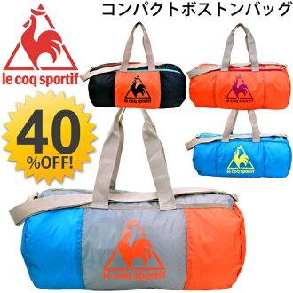 보스턴 가방 르 콕 Le Coq Sportif 달랑 가방 스포츠 가방 소형 휴대 빅 로고/QA-650155/