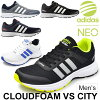 Adidas adidas neo men shoes cloud form VS city sneakers low-frequency cut running-style casual male sports shoes CLOUDFOAM VSCITY shoes AQ1340 AQ1345 AW4687 Adidas neo-/Cloudfoam-VSC
