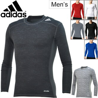 Adidas adidas / men's tech fit long sleeve t-shirt compression underwear inner TECHFIT training gym football men, men's /LOZ73/05P03Sep16