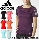 Tシャツ レディース 半袖 アディダス adidas RESPONSE トレーニングシャツ 女性用 ランニング ジョギング トレーニング ジム ヨガ フィットネス スポーツウェア トップス/NDX91