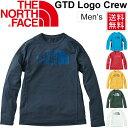 ランニングシャツ 長袖 メンズ THE NORTH FACE GDT ロゴ クルーネック 男性 ジョギング マラソン トレーニング ジム …