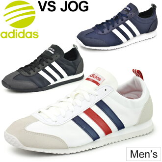 Adidas men's sneakers VS jog adidas neo VS low-cut retro running JOG nylon casual shoes men /AQ1350/AQ1354