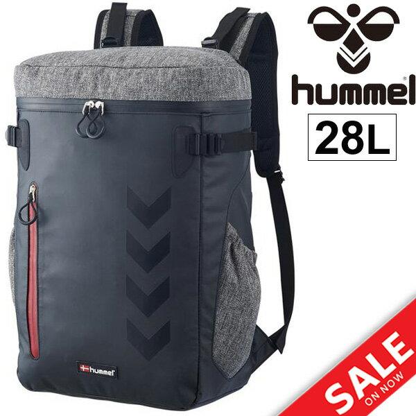 ヒュンメル Hummel バックパック リュックサック サッカー フットボール hummel スポーツバッグ スクエア型 カバン PC収納 通勤 通学 部活/HFB6056/