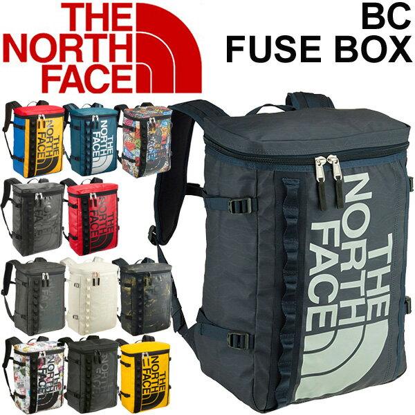 バックパック ザノースフェイス メンズ レディース THE NORTH FACE ベースキャンプ ヒューズボックス ボックス型 30L アウトドア タウン カジュアルバッグ 縦型 鞄 かばん BC Fuse Box 30L 通勤通学 リュックサック 正規品 RKap/NM81630