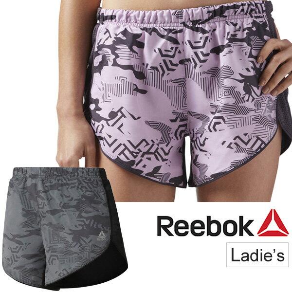 ランニングパンツ レディース /リーボック Reebok 4インチ ショーツ マラソン ジョギング トレーニング エクササイズ/女性 ショートパンツ 短パン ボトムス スポーツウェア/EEY78