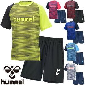 7181d585f4d2e Tシャツ ハーフパンツ 2点セット メンズ レディース/ヒュンメル hummel トレーニングウェア サッカー フットボール