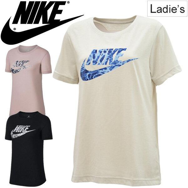 Tシャツ 半袖 レディース ナイキ NIKE ロゴT トレーニング スポーティ カジュアル 女性 半袖シャツ カットソー ビッグロゴ トップス スポーツウェア/911417