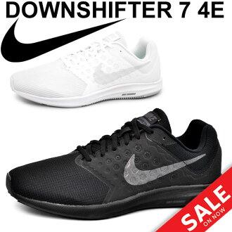 耐克人运动鞋NIKE降低希弗三7 4E DOWN SHIFTER跑步跑步行走健身房训练男性轻量鞋24.5-30.0cm休闲鞋/85万2460