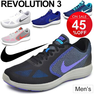eabc007b563c Nike NIKE Mens sneaker   revolution 3 NIKE REVOLUTION 3   running shoes  training jogging gym   men s men s   lightweight athletic shoes   819300-   ...