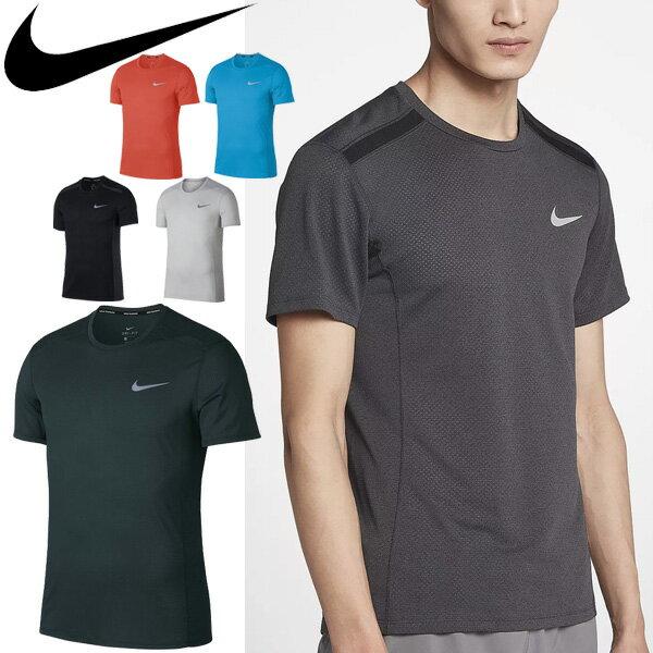 Tシャツ 半袖 メンズ ナイキ NIKE DRI-FIT マイラー クール ランニングトップ 男性用 ジョギング 長距離ラン マラソン ジム スポーツウェア クルーネック 半袖シャツ トップス/892995