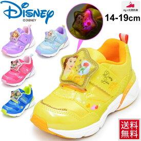 キッズシューズ スニーカー 男の子 女の子 ディズニー Disney ムーンスター moonstar キャラクターシューズ LED搭載 光る 子供靴 15.0-19.0cm 通園 保育園 幼稚園 靴/DN-C1226