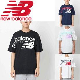 1ef40cdcdee7d Tシャツ 半袖 メンズ レディース ニューバランス NewBalance NBアスレチック クロスオーバー TEE オーバーサイズ スポーツカジュアル