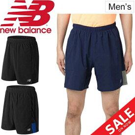 8a70692c0a371 ランニングパンツ メンズ ニューバランス newbalance アクセレレイト 7インチショーツ(インナー付き)/ジョギング マラソン