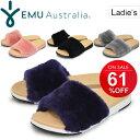 ファーサンダル レディース エミュ EMU Australia ROBE スライドサンダル 女性用 おしゃれ もふもふ ふわふわ かわい…