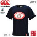 Tシャツ 半袖 メンズ ラグビーワールドカップ ラガーシャツ カンタベリー canterbury REN-G TEE レンジー RWC JAPAN …