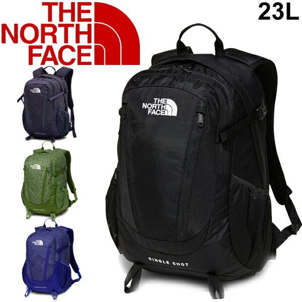 バックパック メンズ レディース ザノースフェイス THE NORTH FACE シングルショット Single Shot 23L/リュックサック デイパック アウトドア 普段使い 通勤 通学 定番 多機能 鞄 かばん RKap/ NM71903