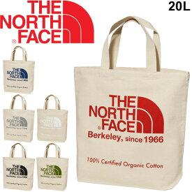 トートバッグ レディース メンズ ノースフェイス THE NORTH FACE TNFオーガニックコットン バッグ 手持ち 肩掛け ビッグロゴ シンプル ナチュラル Skal認定 鞄/NM81908