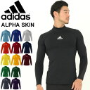 コンプレッション 長袖シャツ メンズ/アディダス adidas ALPHASKIN 当店別注カラー/スポーツ トレーニング ウェア 男…