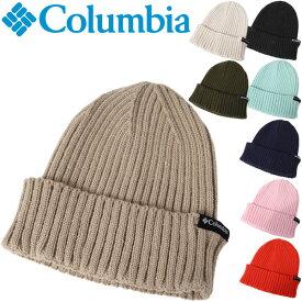 ニット帽 帽子 メンズ レディース コロンビア Columbia スプリットレンジニットキャップ2 防寒グッズ ビーニー アウトドア カジュアル リブ編み シンプル 男女兼用 ぼうし/PU5438
