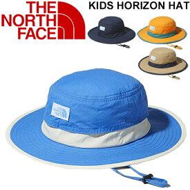 帽子 キッズ 男の子 女の子 子ども ノースフェイス THE NORTH FACE ホライズンハット Horizon Hat/子供用 ぼうし 定番 紫外線対策 撥水 アウトドア レジャー 林間学校 デイリー おでかけ 正規品/NNJ02006