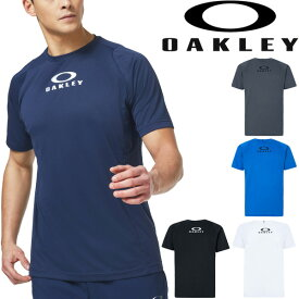 Tシャツ 半袖 メンズ/オークリー OAKLEY Enhance SS Crew 10.0/スポーツウェア JPNフィッティング 自宅トレーニング ランニング ジム 男性 クルーネック 半袖シャツ 吸汗速乾 トップス/FOA400841
